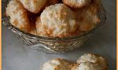 Kokosky - sněhové pusinky s kokosem