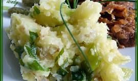 Máslové šťouchané brambory