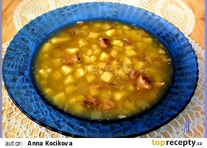 Rychlá uzená polévka