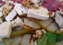 Salát s grilovanou hruškou