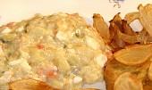 Smažený vepřový jazyk v sýrovém těstíčku