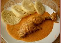 Verunčino kuře na paprice