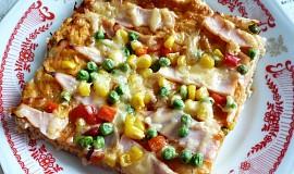 Vločková pizza