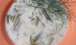 Cuketovo - fazolková polévka se smetanou