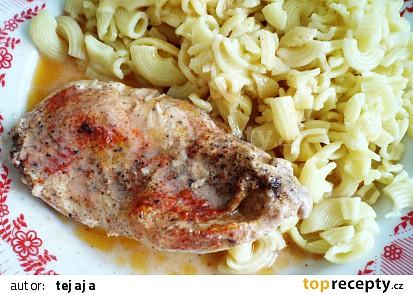 Dušené kuřecí na majonéze