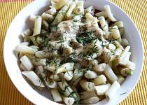 Jednoduchý fazolkový salát