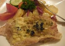 Maso+brambory v alobalu