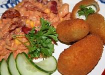 Plněné jalapeňos s netradičním bramborovým salátem