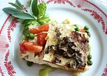 Polenta se zeleninou a tofu (zapečená)