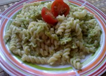 Rychlé těstoviny s brokolicí