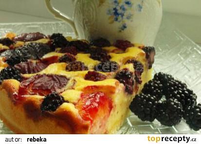 Švestkový koláč 2