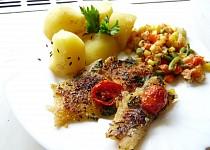 Zdravé filé se zeleninou