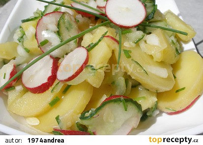 Bramborovo - okurkový salát