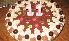 Griliášový dort
