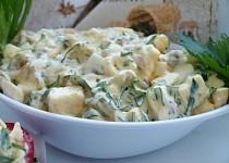 Hermelínovo-vaječný salát