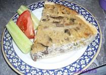 Houbový quiche - skvělý slaný koláč