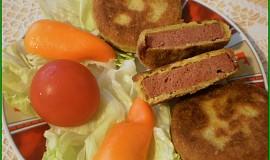 Játrový sýr smažený v trojobalu