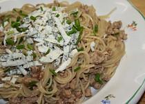 Jednoduché špagety