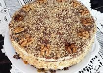 Kakaovo-ořechový dort