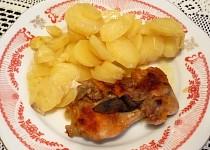 Kuřecí na bramborách a másle