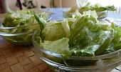 Lehký salát z ledového salátu