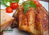 Makrela pečená na mramorové desce