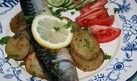 Makrela v alobalu