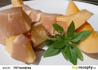 Meloun s prosciuttem