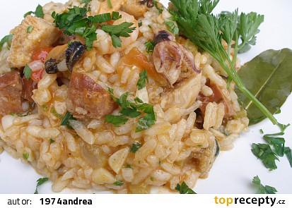 Pestré rizoto ( Jambalaya)