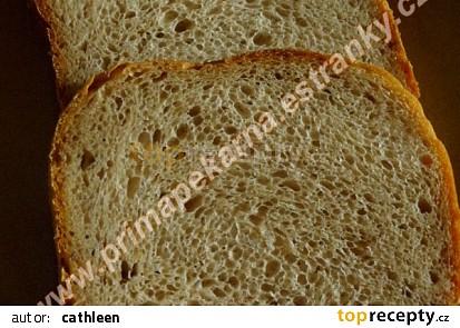 Podmáslový chlebík s pohankovými vločkami