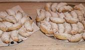 Rohlíčky ze šlehačkového těsta