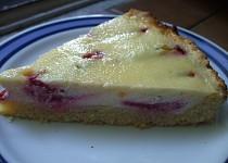 Smetanovo-švestkový koláč