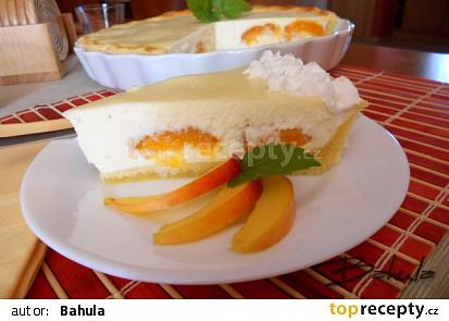 Tvarohový koláč s meruňkami II.