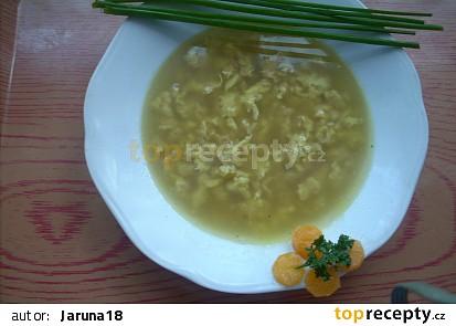 Vločková polévka,studentská