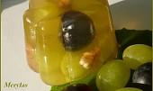 Želé bábovičky s hroznovým vínem
