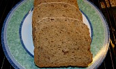 Celozrnný kefírový chleba s dýňovým semínkem