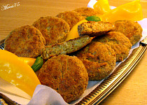 Kapustové  karbanatky (kelove) smažené v troubě