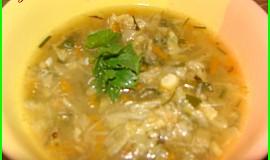 Kapustovo-zeleninová polévka