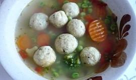 Kvasnicové knedlíčky do polévky