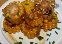 Máslová kukuřice na medu