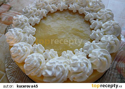 Nepečený jablíčkový dort