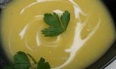 Polévka z muškátové dýně se zázvorem