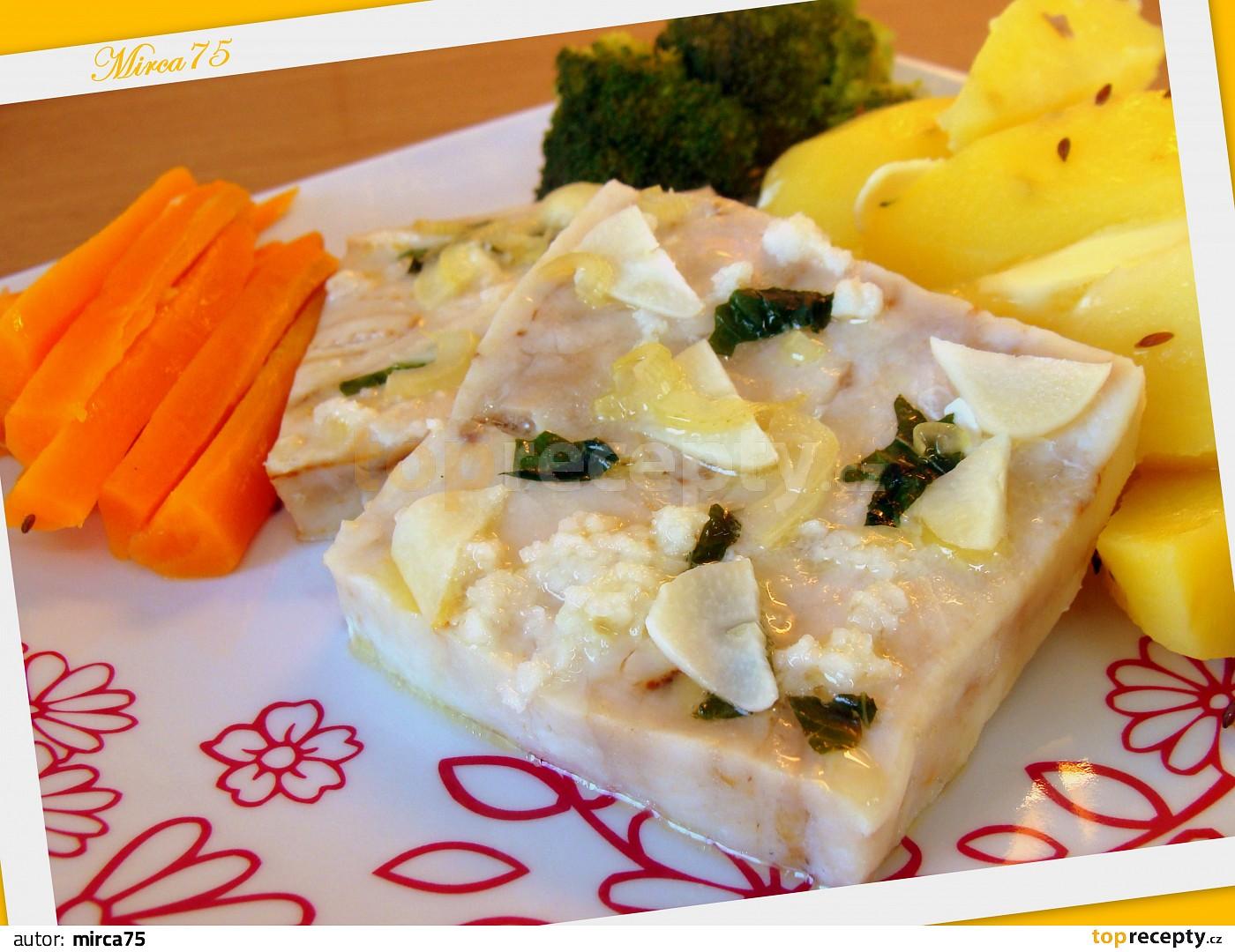 Ryba (filé) s česneko - bazalkovou chutí 7ade8ae499