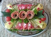 Slaný dort pro Honzu