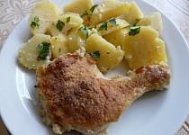Smažené kuře na šlehačce