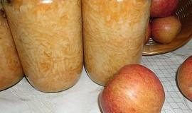 Strouhaná jablíčka k zavaření