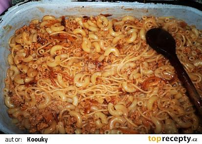 Vegetariánské špagety