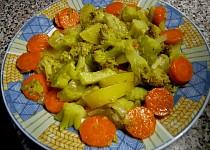Brokolice brambory, mrkev - v páře a  rychlovka neskutečně dobrá