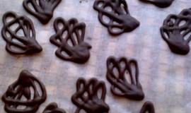 Čokoládové řezy s pařížskou šlehačkou-bez úprav