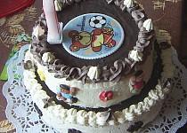Kakaový dort z jednoho vajíčka - Retro